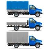 Vettore Lorry Icons Set 1 Fotografia Stock Libera da Diritti