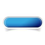 Vettore lucido blu del bottone della barra di web illustrazione vettoriale