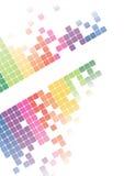 Vettore luminoso astratto della priorità bassa del mosaico Immagine Stock Libera da Diritti