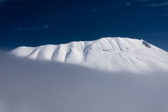 Vettore mount with snow. Vettore mount landscape with snow Stock Photography