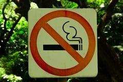 Vettore non fumatori Fotografia Stock