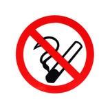 Vettore non fumatori Immagine Stock Libera da Diritti