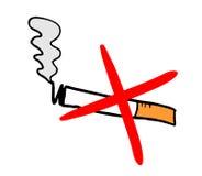 Vettore non fumatori illustrazione di stock