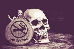 Vettore non fumatori Immagine Stock