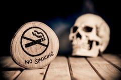 Vettore non fumatori Fotografia Stock Libera da Diritti