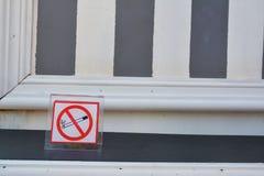 Vettore non fumatori Fotografie Stock