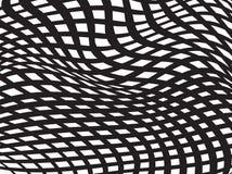 Vettore ottico bianco nero del fondo di progettazione del modello Fotografia Stock Libera da Diritti