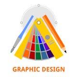 Vettore - progettazione grafica Fotografie Stock