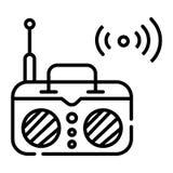 Vettore radiofonico dell'icona illustrazione vettoriale