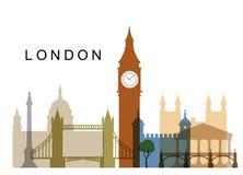 Vettore Regno Unito Immagine Stock