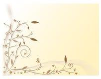 Vettore, reticolo, piante, fiori Immagine Stock Libera da Diritti