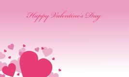 Vettore romanzesco degli ambiti di provenienza di giorno di S. Valentino illustrazione di stock