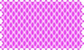Vettore rosa scintillante del fiore su fondo bianco immagini stock libere da diritti