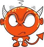 Vettore rosso del diavolo del mostro Immagini Stock Libere da Diritti