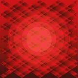 Vettore rosso del fondo di struttura del plaid di pendenza Immagini Stock