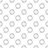 Vettore senza cuciture del cerchio del modello rotondo della freccia illustrazione vettoriale
