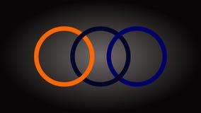 Vettore 3 in una progettazione di logo royalty illustrazione gratis