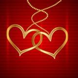 Vettore Valentine Card Fotografie Stock