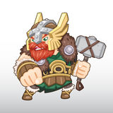 Vettore Viking Warrior Illustration Immagine Stock