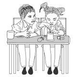 Vettori del personaggio dei cartoni animati illustrazione di stock