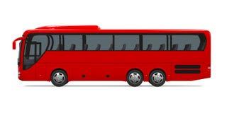 Vettura Bus Isolated illustrazione di stock