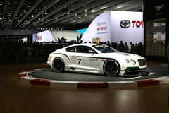 Vettura da corsa di Bentley Immagine Stock Libera da Diritti