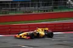 Vettura da corsa di F1 Renault Fotografia Stock