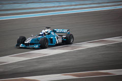 Vettura da corsa di formula 1 Fotografia Stock