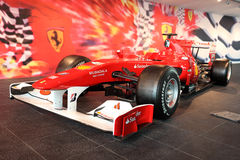 Vettura da corsa di Formula 1 Immagini Stock Libere da Diritti