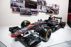 Vettura da corsa di Formula 1 di McLaren Honda Immagine Stock