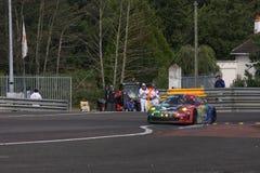 Vettura da corsa di Le Mans Fotografie Stock Libere da Diritti