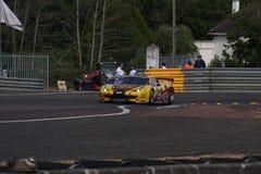 Vettura da corsa di Le Mans Immagini Stock Libere da Diritti