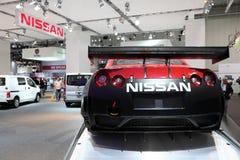Vettura da corsa GT-R dei Nissan Immagine Stock