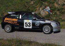 Vettura da corsa Rover 1400 Fotografia Stock