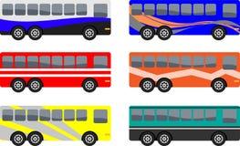 Vettura decorata Buses Immagine Stock
