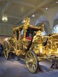 Vettura dello stato dell'oro, Inghilterra immagine stock libera da diritti
