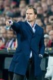 Vettura Frank de Boer dell'istruttore di Ajax Immagine Stock