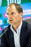 Vettura Frank de Boer dell'istruttore di Ajax Fotografie Stock