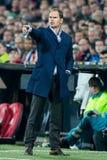 Vettura Frank de Boer dell'istruttore di Ajax Fotografia Stock