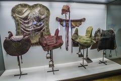 Vettura nazionale Museum (Lisbona, nel Portogallo) Fotografie Stock Libere da Diritti