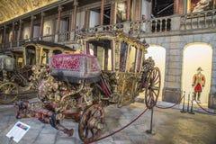 Vettura nazionale Museum (Lisbona, nel Portogallo) Fotografia Stock