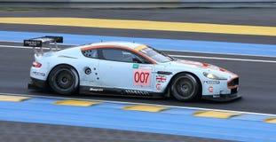Vetture da corsa di Le Mans immagine stock libera da diritti