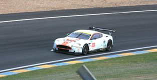 Vetture da corsa di Le Mans fotografie stock libere da diritti
