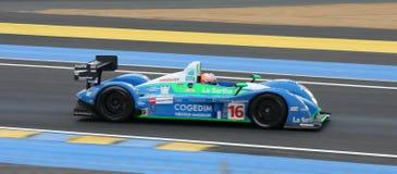 Vetture da corsa di Le Mans immagini stock