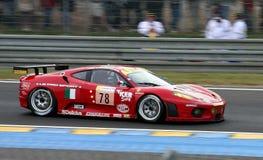 Vetture da corsa di Le Mans fotografia stock libera da diritti