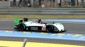 Vetture da corsa di Le Mans immagini stock libere da diritti
