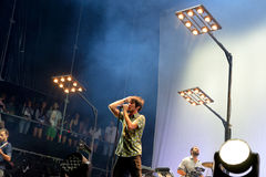 Vetusta Morla (Spanish band) concert at Dcode Festival Stock Photos