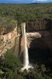 Veu da Noiva vattenfall royaltyfri bild