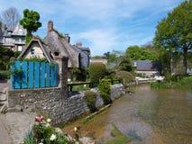 Veules-les-rozen Normandië, Frankrijk Stock Foto