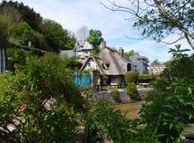 Veules-les-rozen Normandië, Frankrijk Royalty-vrije Stock Afbeeldingen